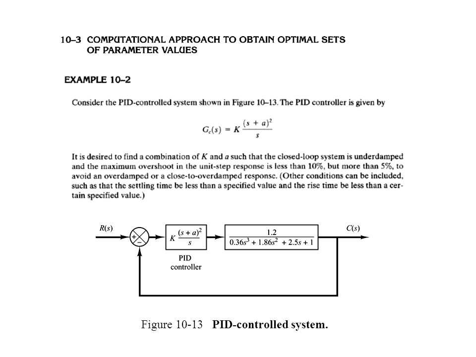 Figure 10-13 PID-controlled system.