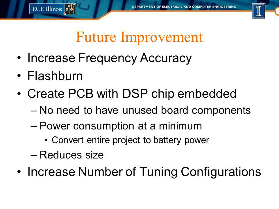 Future Improvement Increase Frequency Accuracy Flashburn