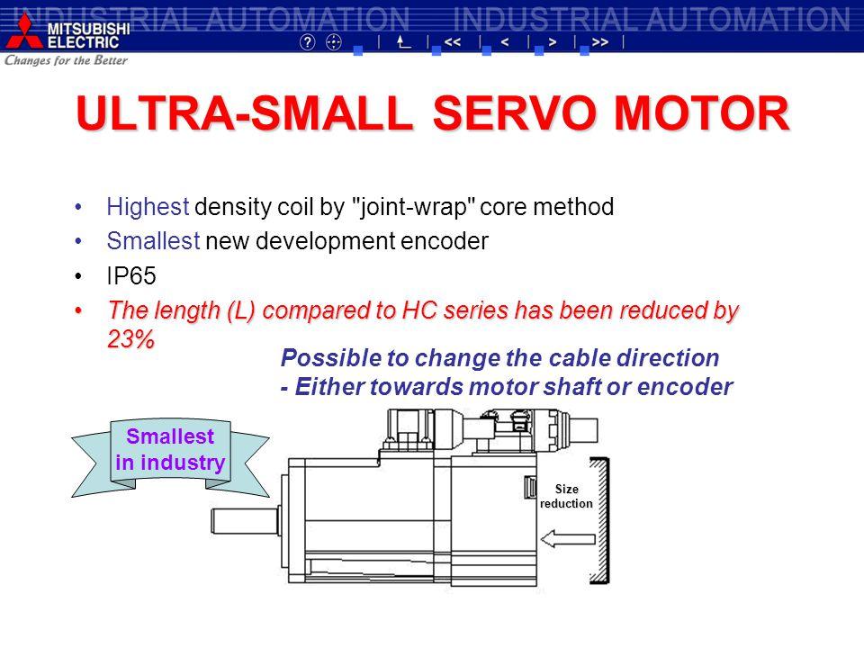ULTRA-SMALL SERVO MOTOR