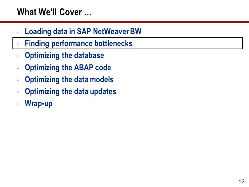Tip 01: SAP NetWeaver BW 7.x Statistics