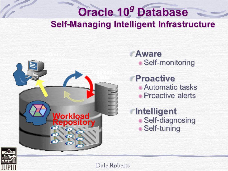 Oracle 10g Database Self-Managing Intelligent Infrastructure