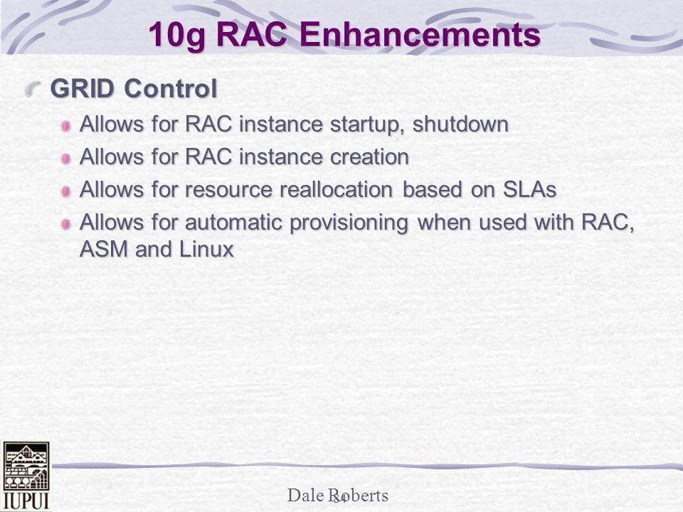 10g RAC Enhancements GRID Control
