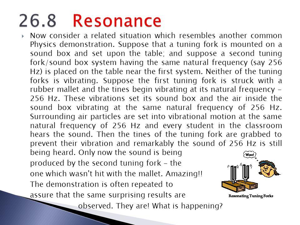 26.8 Resonance