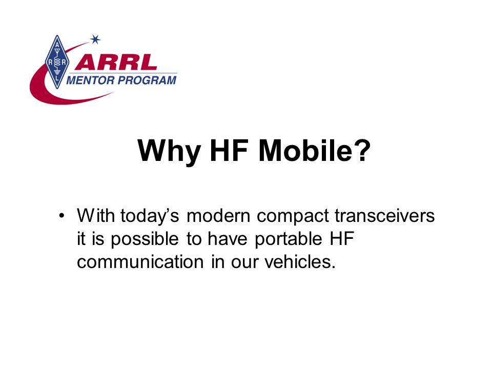 Why HF Mobile.