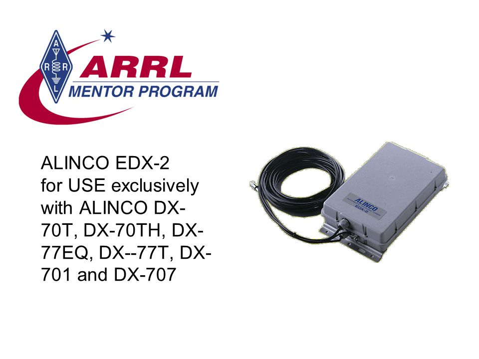 ALINCO EDX-2 for USE exclusively with ALINCO DX-70T, DX-70TH, DX-77EQ, DX--77T, DX-701 and DX-707