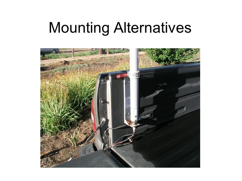 Mounting Alternatives
