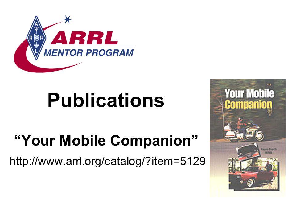 Publications Your Mobile Companion
