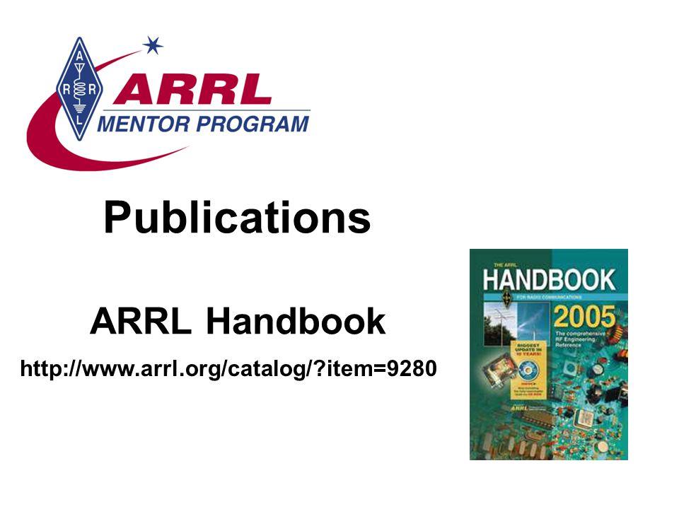 Publications ARRL Handbook