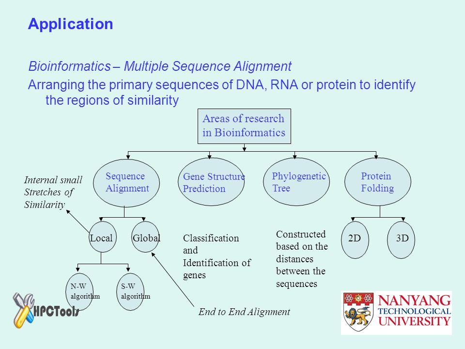 Application Bioinformatics – Multiple Sequence Alignment