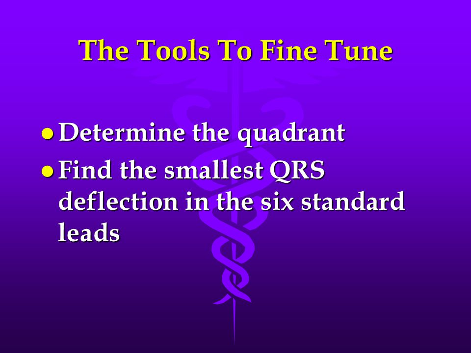 The Tools To Fine Tune Determine the quadrant