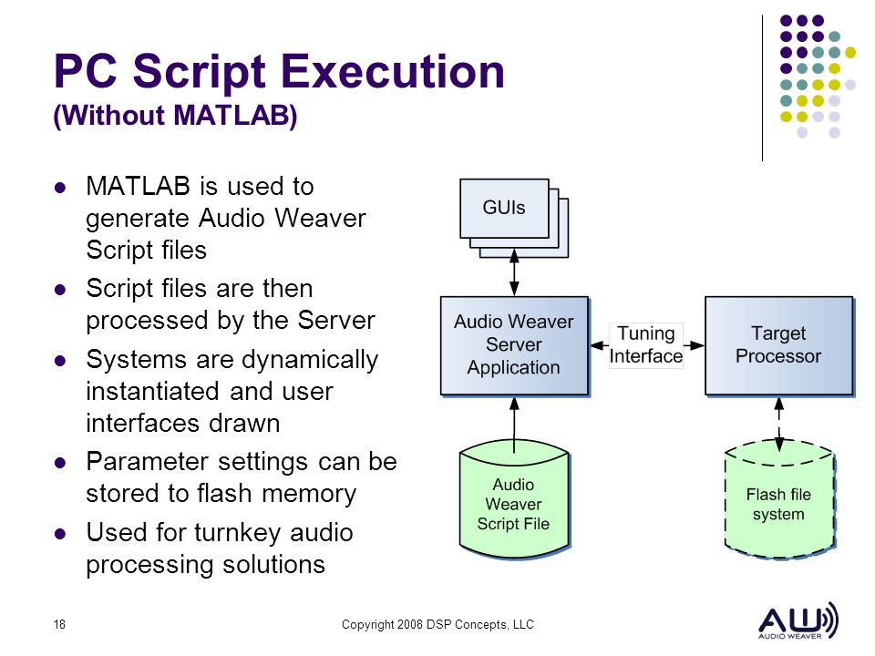 PC Script Execution (Without MATLAB)
