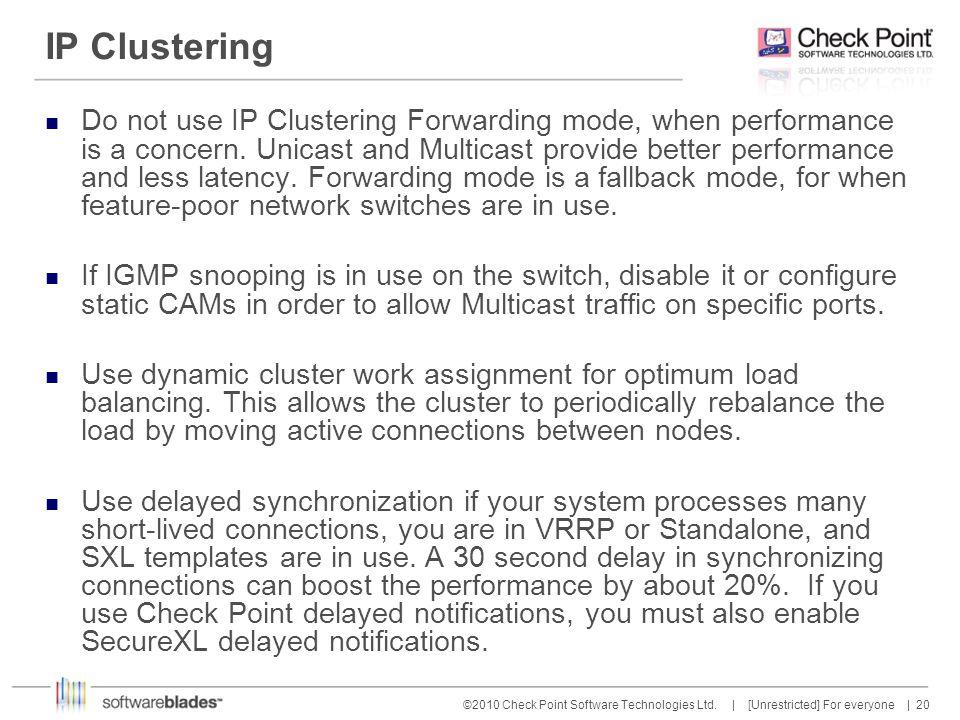 IP Clustering