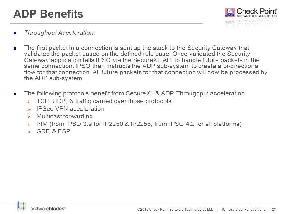ADP Benefits Throughput Acceleration: