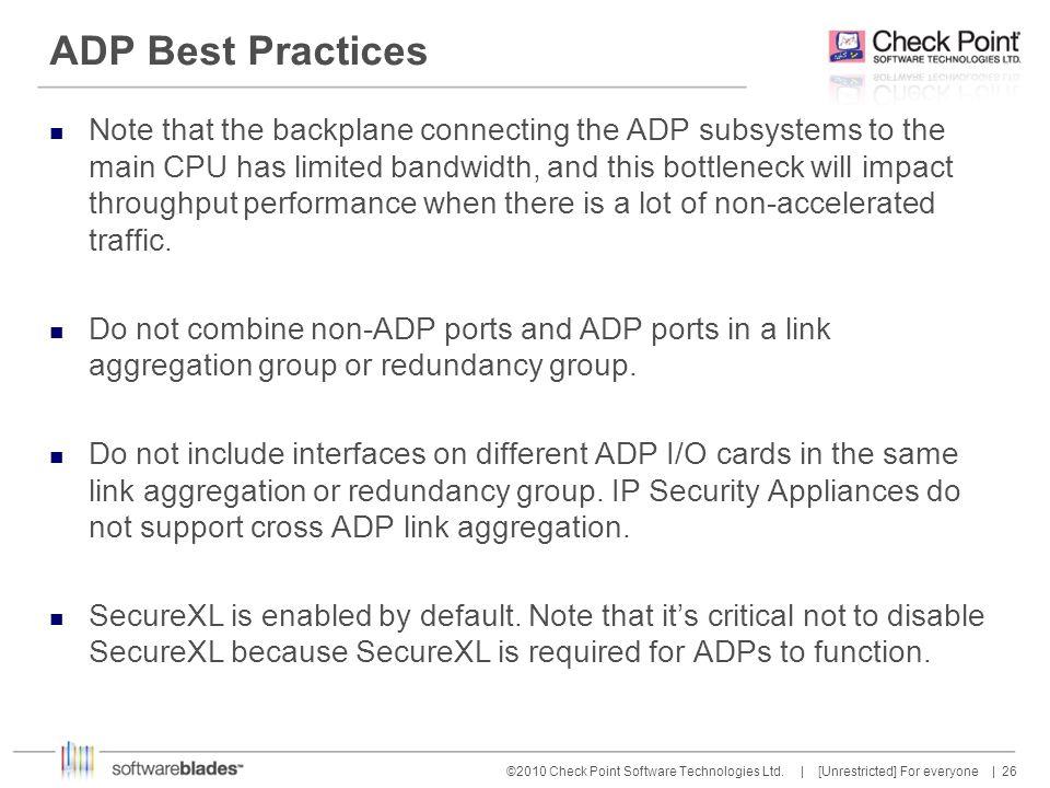 ADP Best Practices