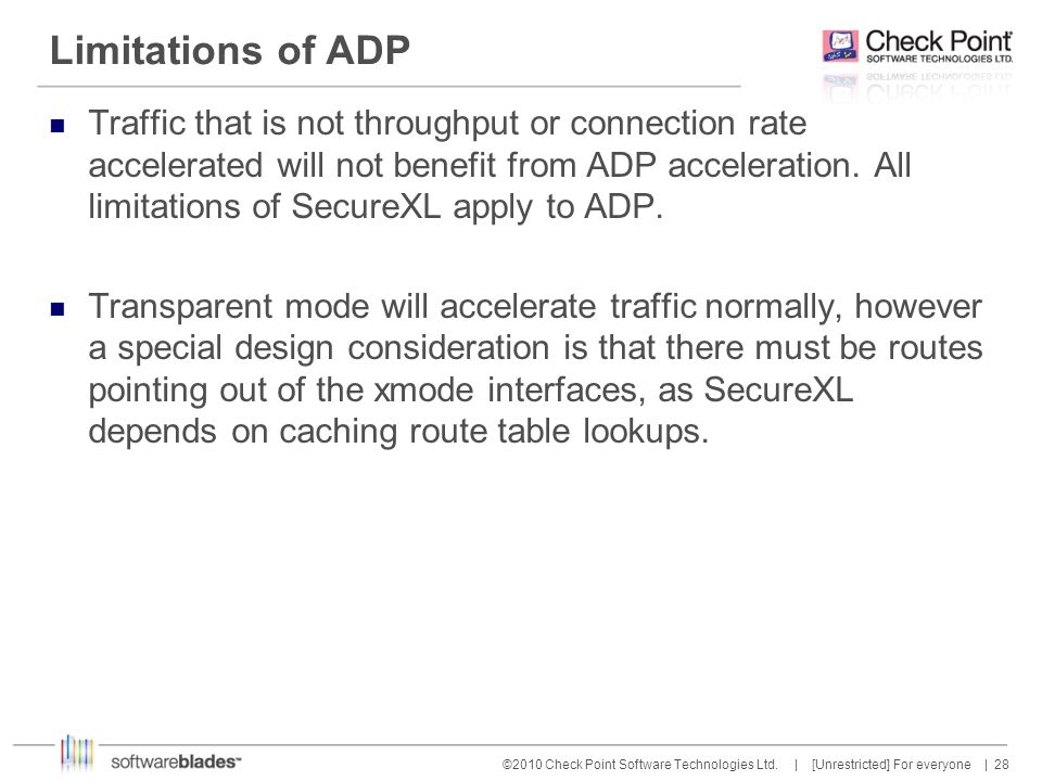 Limitations of ADP