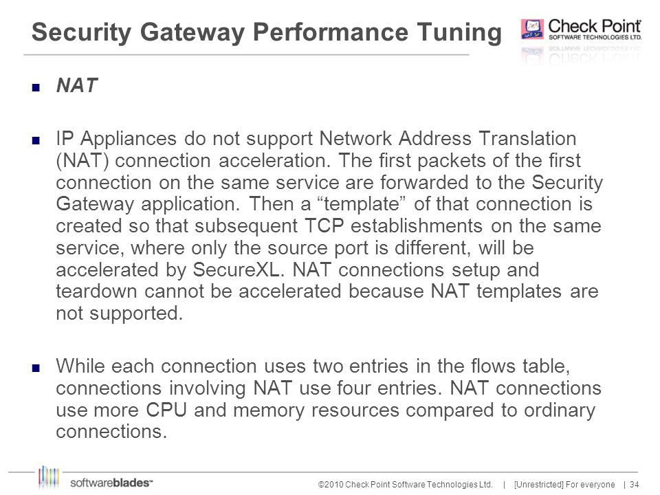 Security Gateway Performance Tuning