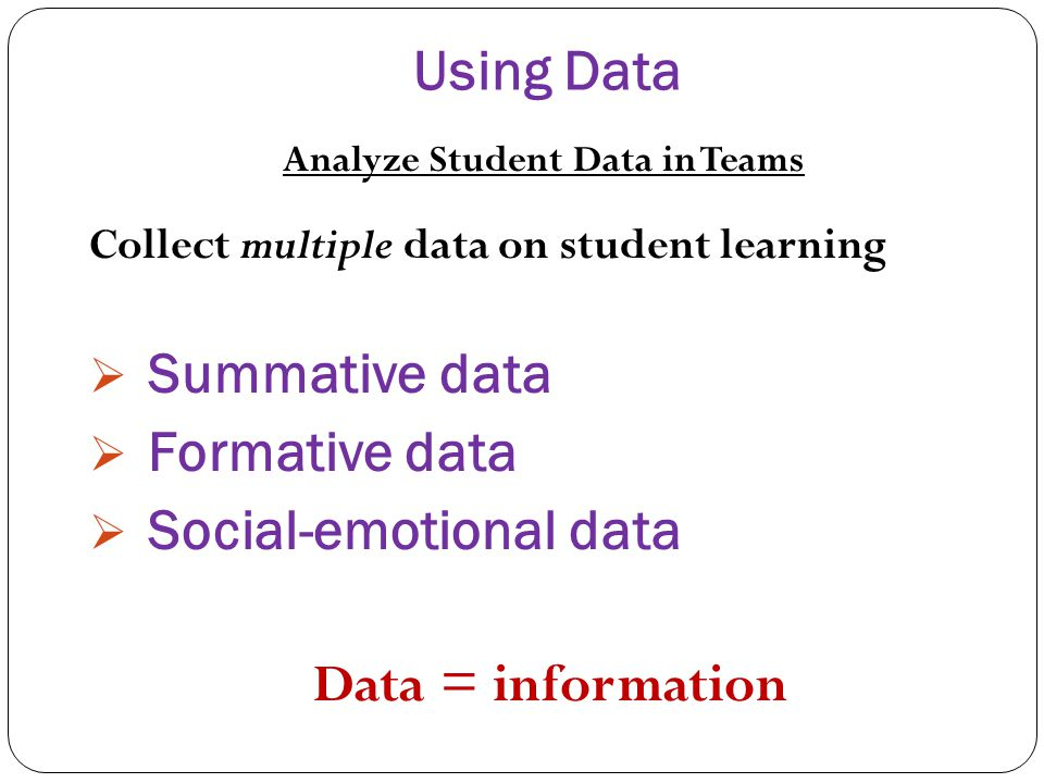 Analyze Student Data in Teams