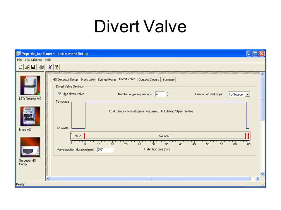 Divert Valve