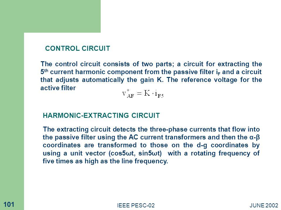 HARMONIC-EXTRACTING CIRCUIT