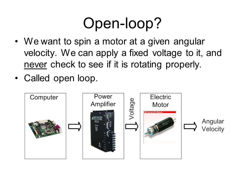 Open-loop