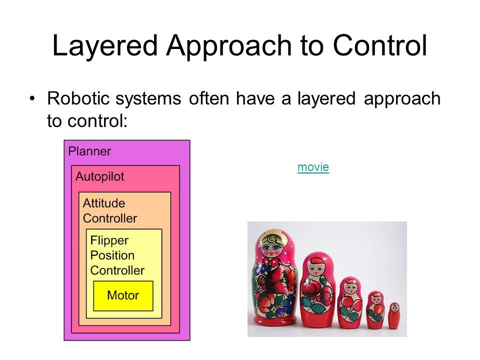 Layered Approach to Control