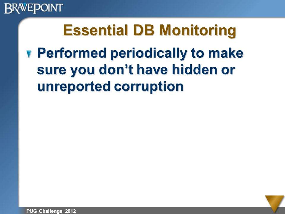 Essential DB Monitoring