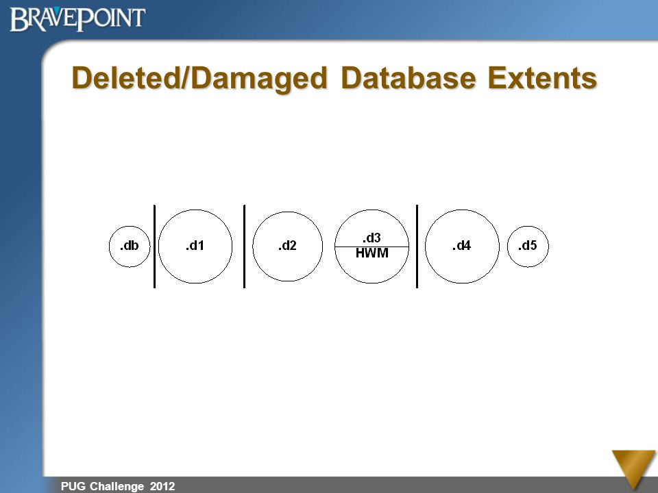 Deleted/Damaged Database Extents