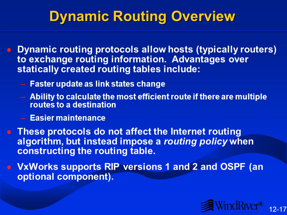 Network Show Routines