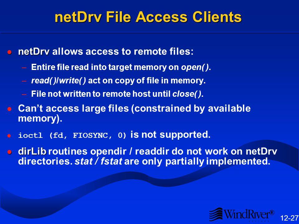 NFS Client Configuration