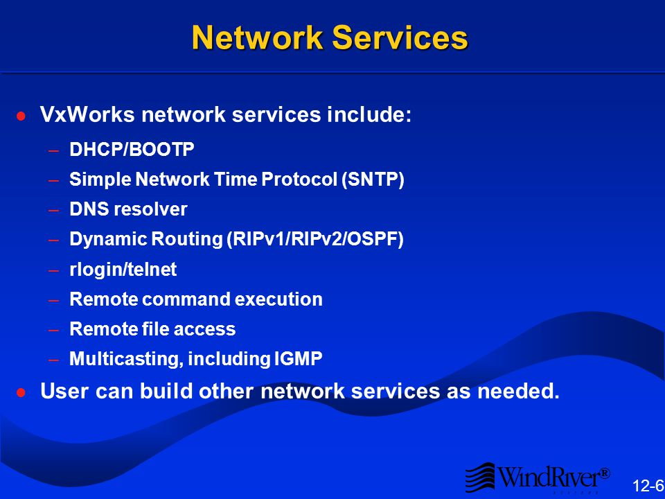 Network Scalability Selective inclusion of core TCP/IP networking protocols is provided.