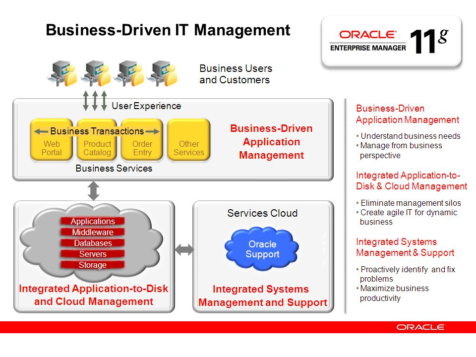 Business-Driven IT Management