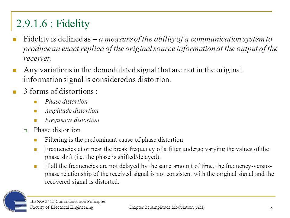 2.9.1.6 : Fidelity