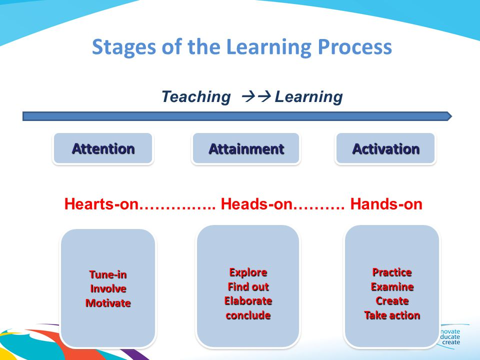 Stages of the Learning Process