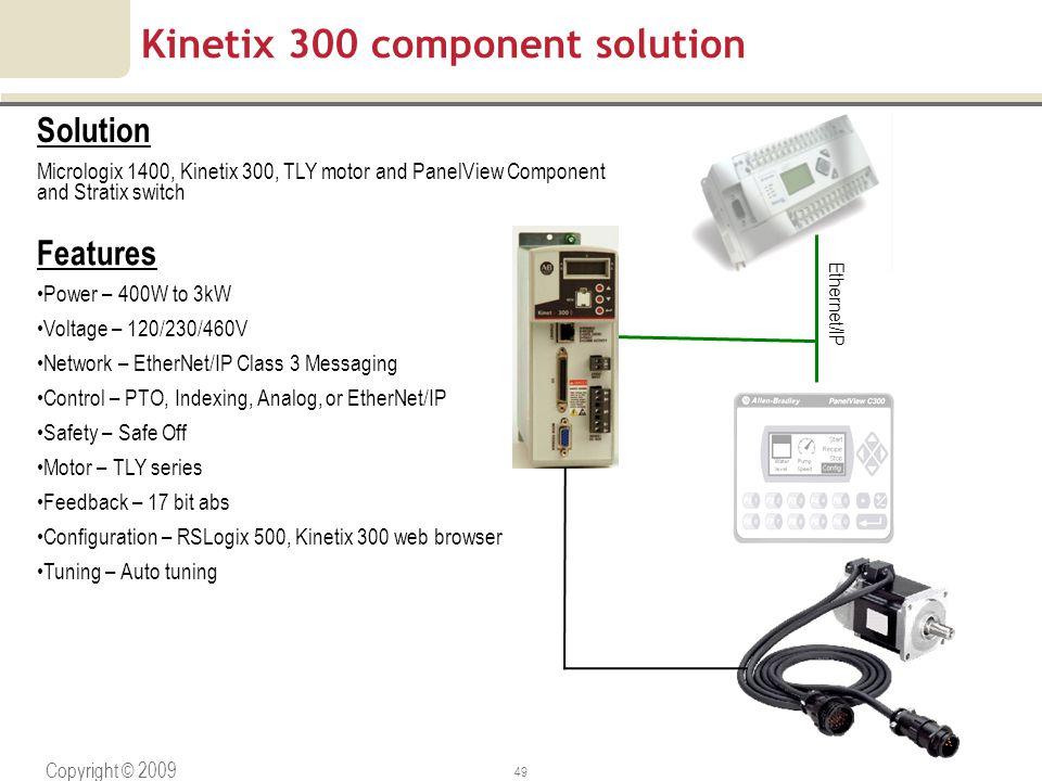 Kinetix 300 component solution