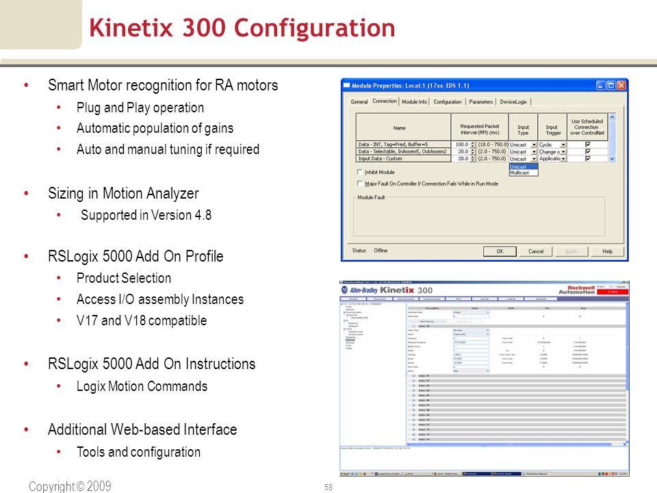 Kinetix 300 Configuration