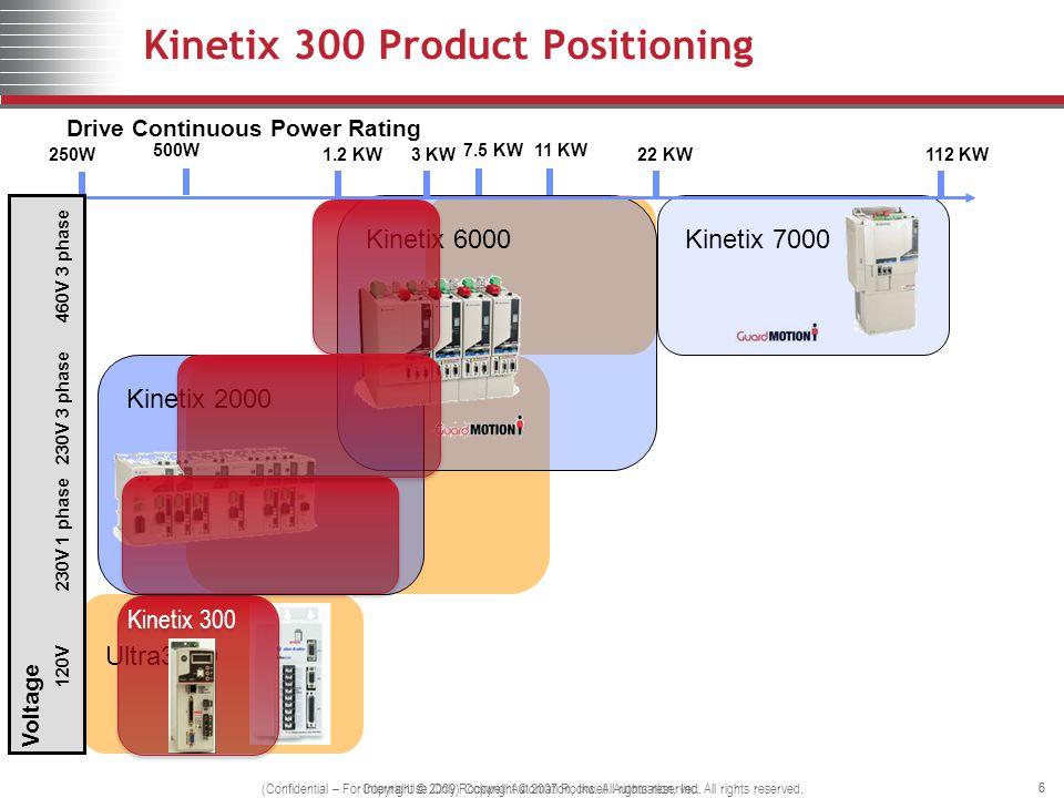 Kinetix 300 Product Positioning