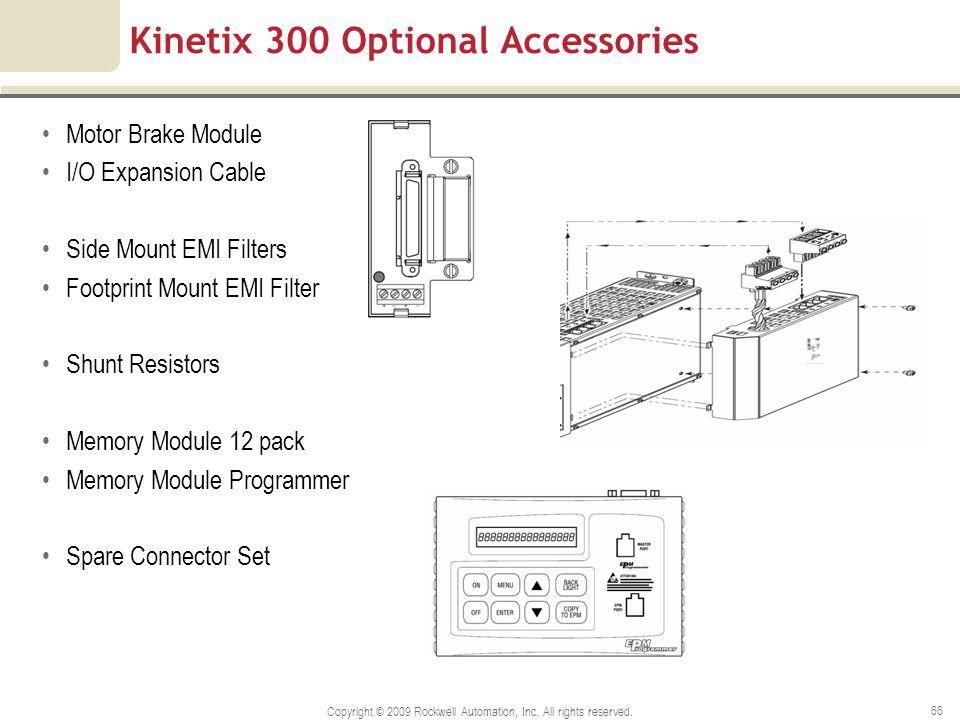 Kinetix 300 Optional Accessories