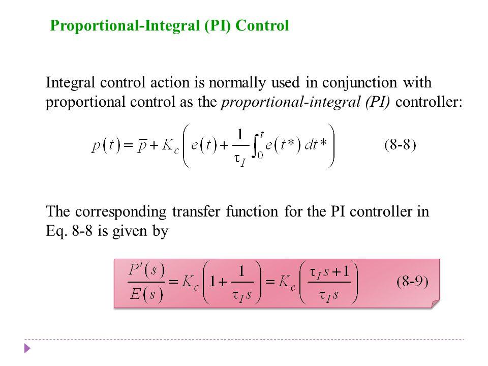 Proportional-Integral (PI) Control