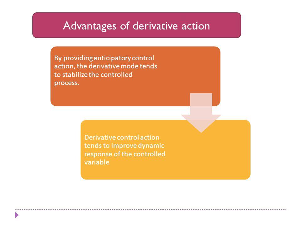 Advantages of derivative action