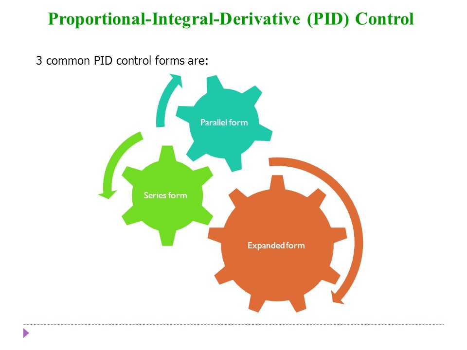 Chapter 8 Proportional-Integral-Derivative (PID) Control Chapter 8