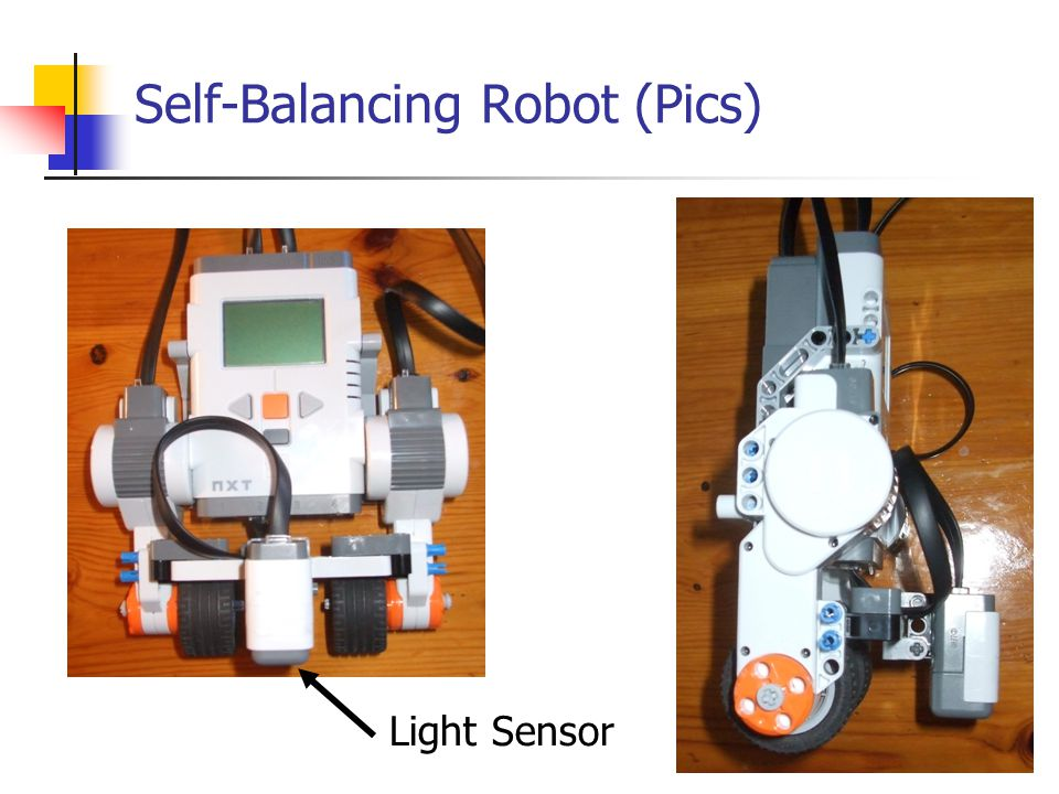 Self-Balancing Robot (Pics)