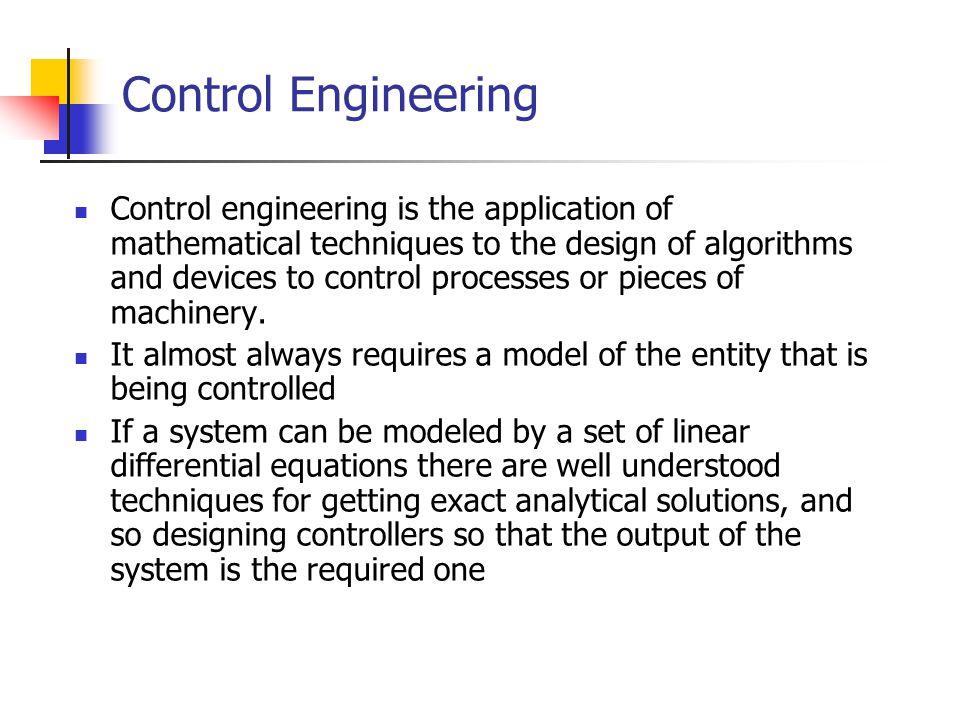 Control Engineering