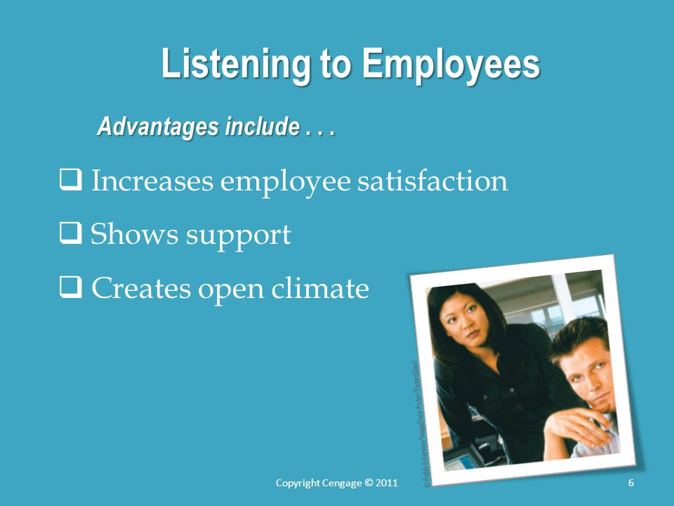 Listening to Employees