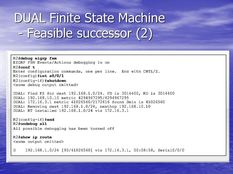 DUAL Finite State Machine - Feasible successor (2)