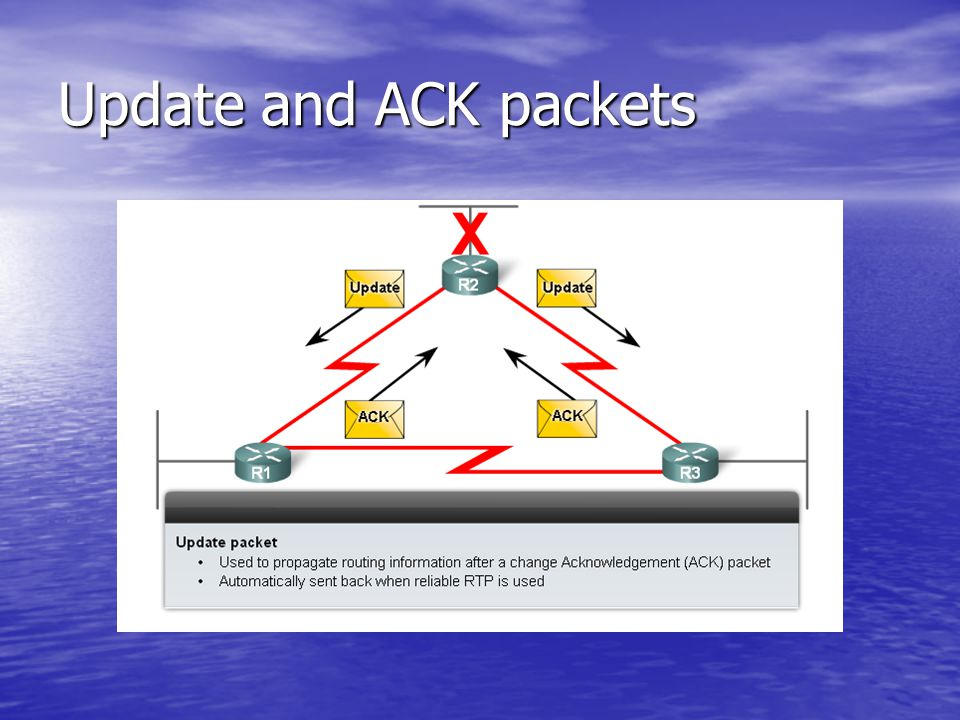 Update and ACK packets