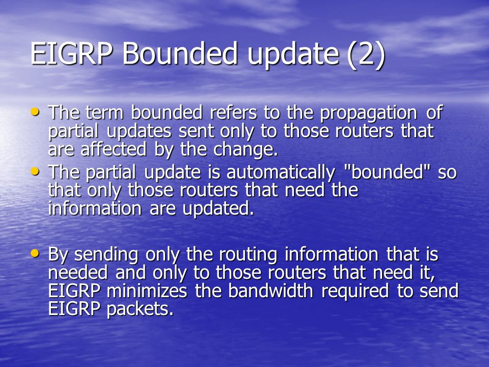 EIGRP Bounded update (2)