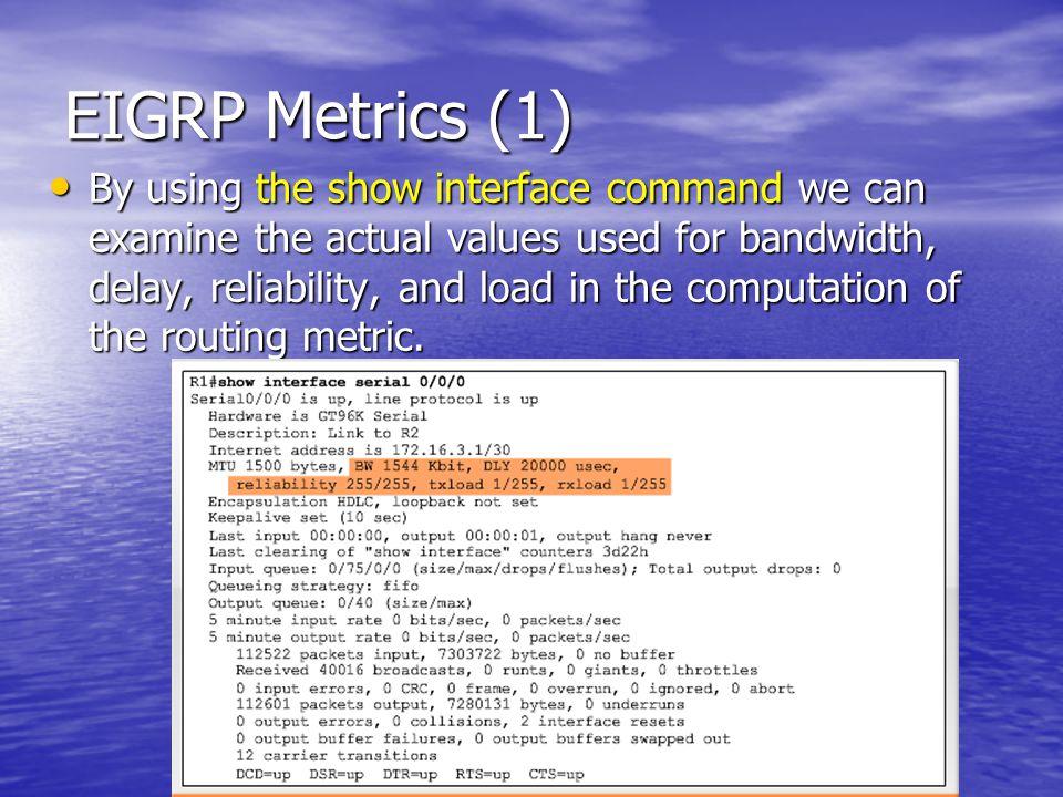 EIGRP Metrics (1)