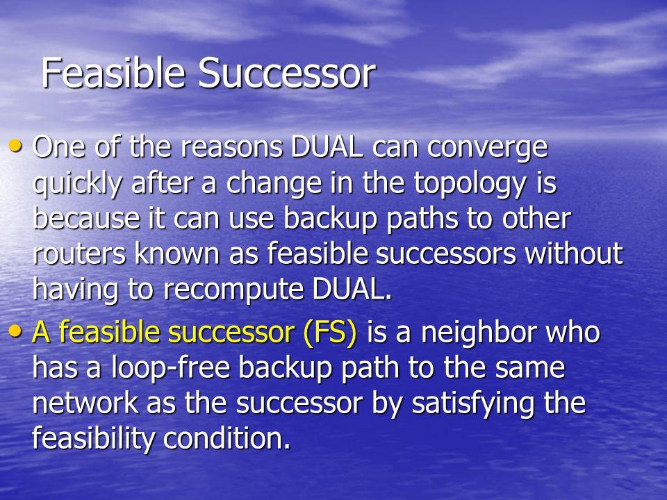 Feasible Successor