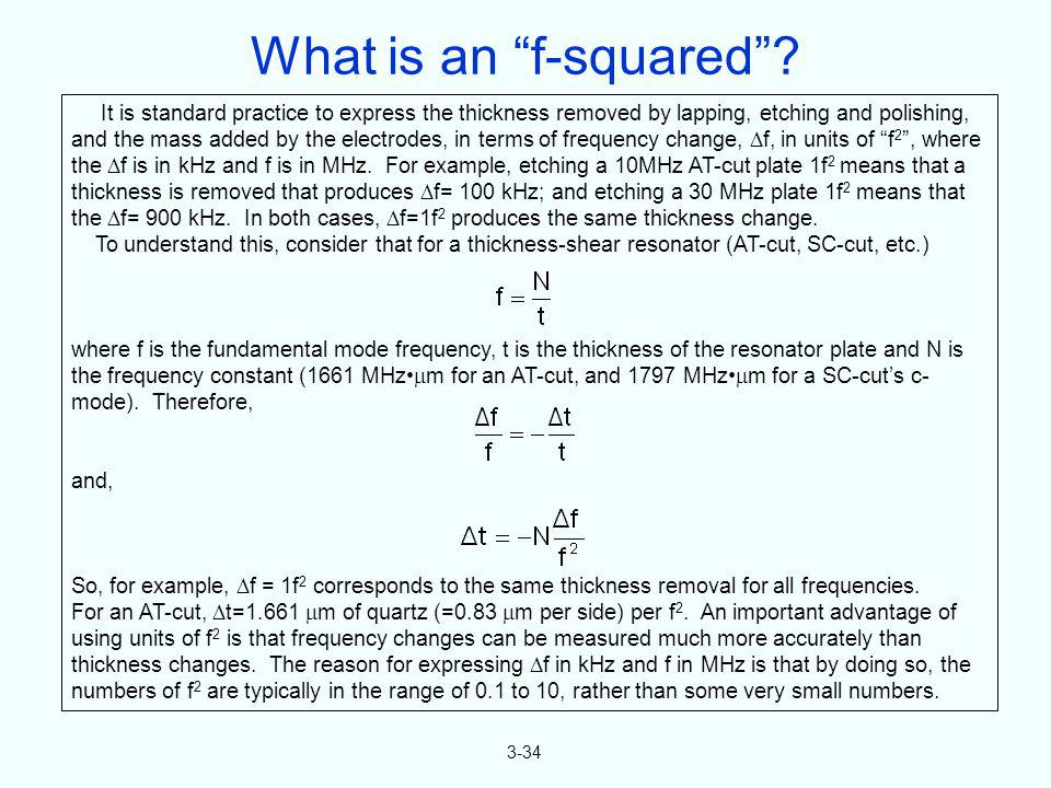 What is an f-squared