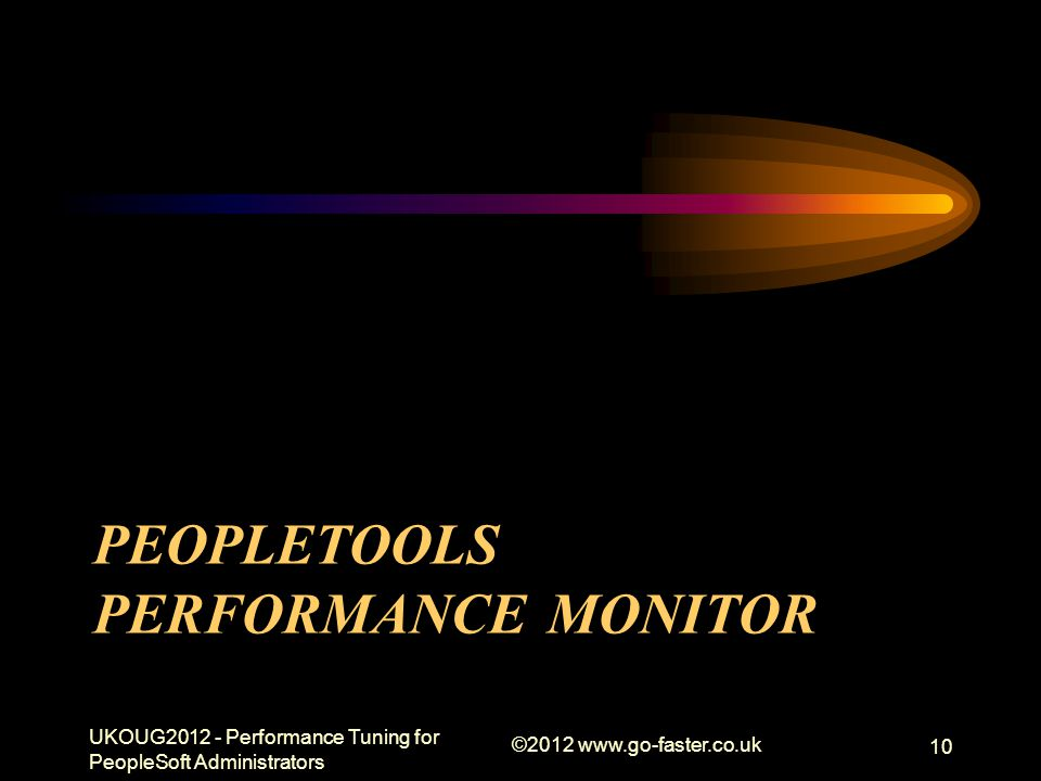 PeopleTools Performance Monitor